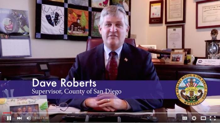 San Diego Supervisor Dave Roberts Backs San Diego Saves